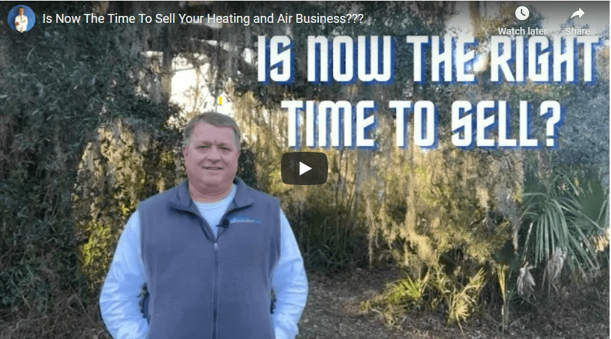 Right Time to Sell HVAC Business Video Snapshot